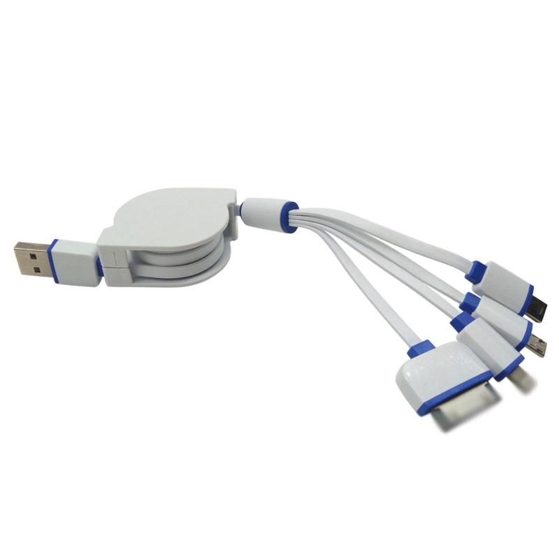 Micro Usb À Type C Usb 24 Broches Usb Données De Charge Câble Pour Android