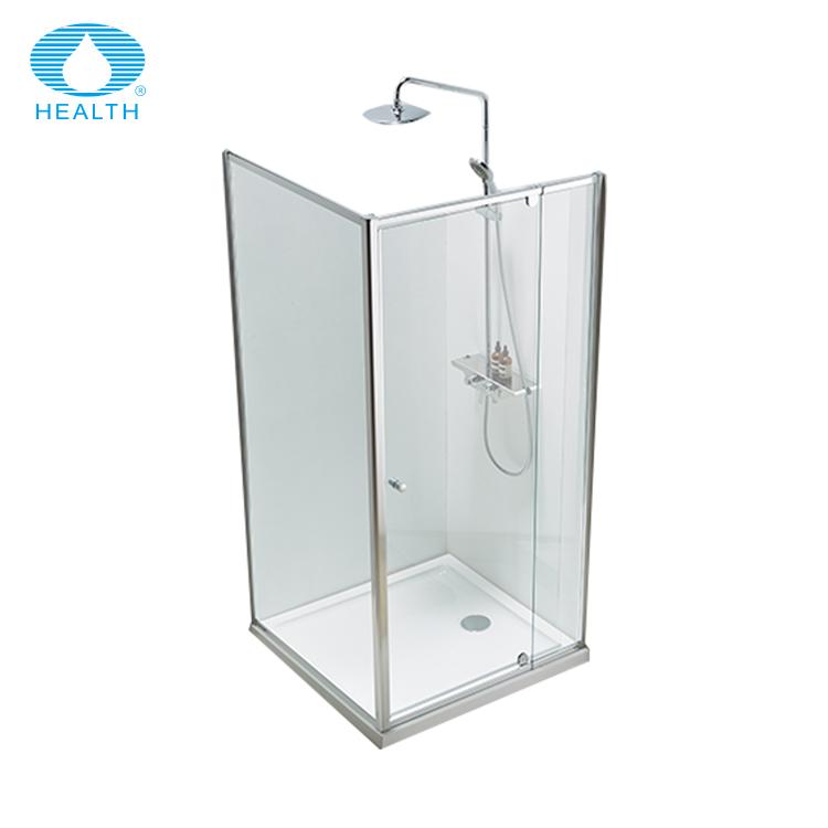Barato pivote bisagra mamparas de ducha Puerta de ducha de vidrio de pantalla