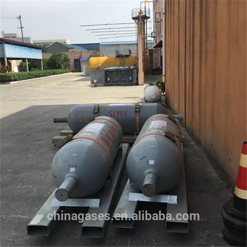De alta calidad de China fabricante de silano/Silicio e hidruro SiH4 Precio de Gas.