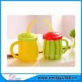 Taza de café de cerámica con fondo silicona