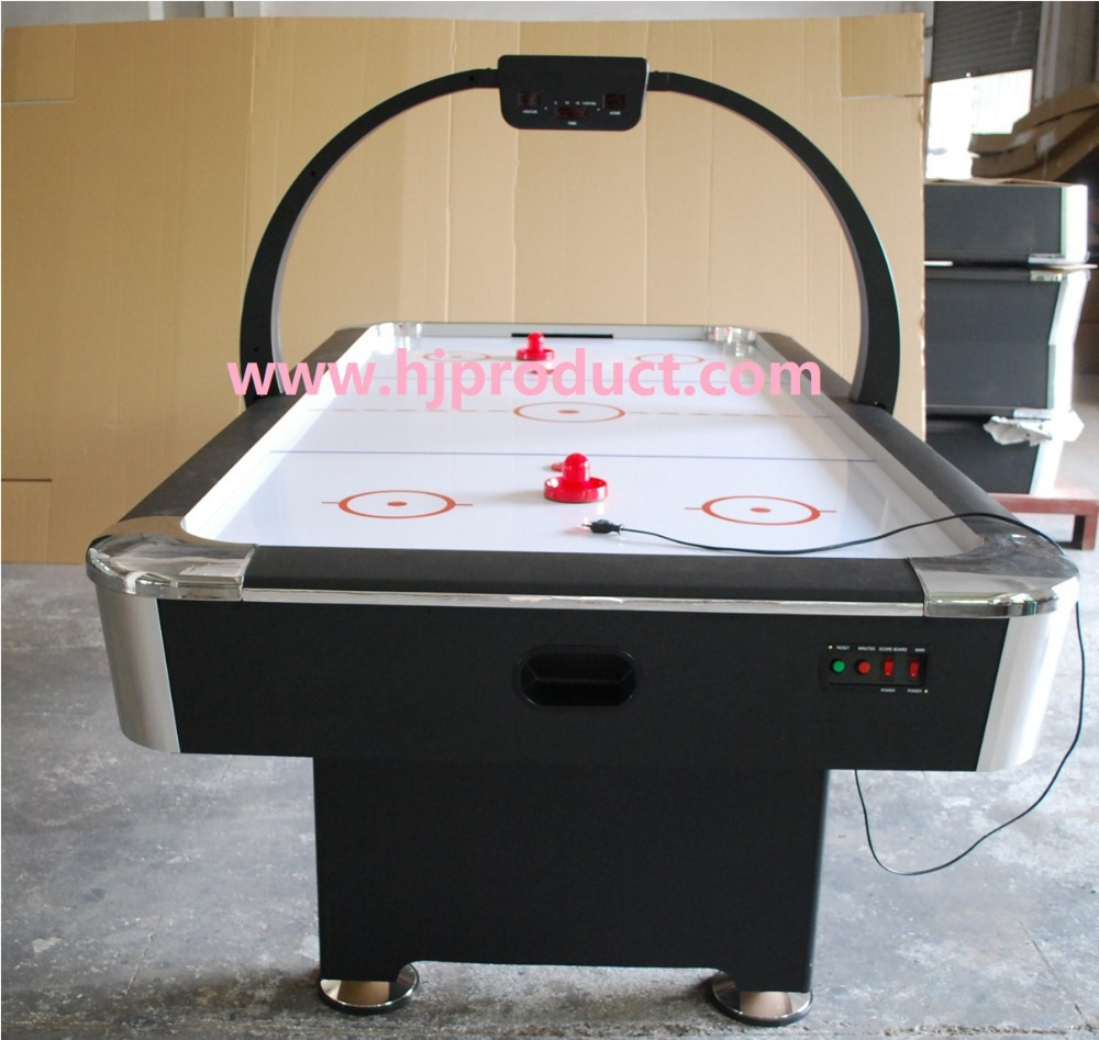 7ft classic sport tournament choice air powered digital scoring air hockey table view superior - Tournament air hockey table ...
