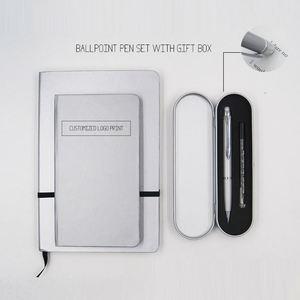 Luxury 문구 Gift Set 대 한 단, 법인 Promotional 공 점 펜 리필 Metal 2년 째 펜 Set