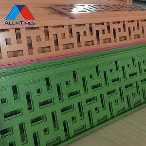 Di alluminio della parete divisoria pannello solido per alta costruzione di attrezzature per la pulizia