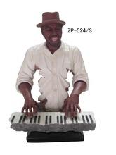 gracioso figura de resina figura de resina teclado