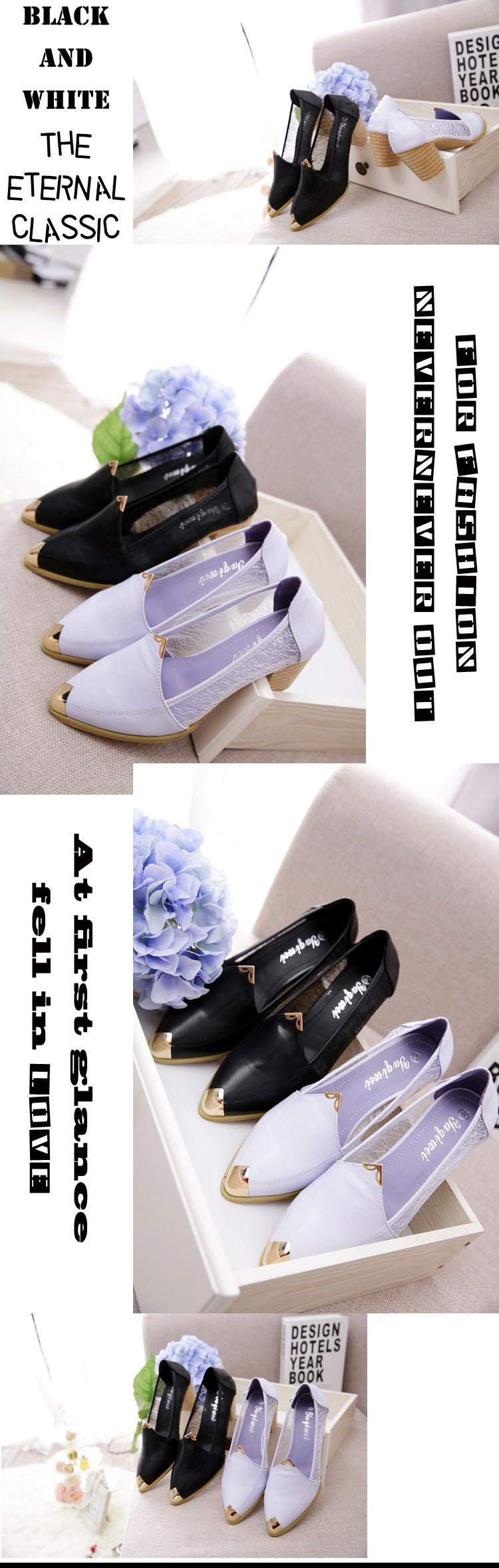 Туфли на высоком каблуке  738-6