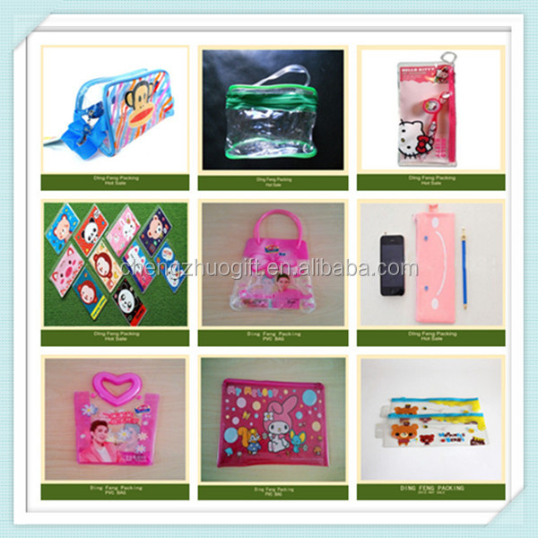 Promotional Plastic Waterproof PVC Carry Bag