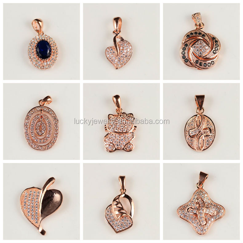Best wholesale websites china supplier jewelry rose gold pave 2g aloadofball Images