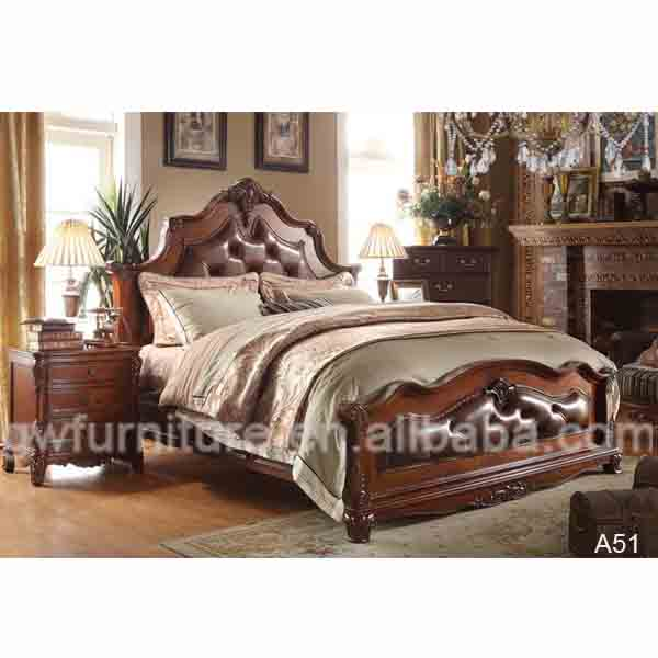 Wooden Bed With Carving Design : wooden carved bed designs