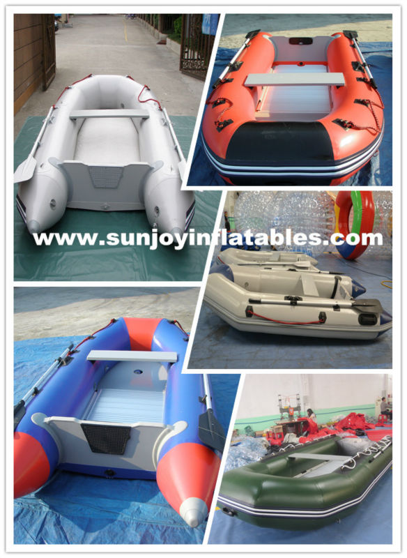 High quality Special PVC inflatable boat for sale Sunjoy inflatables