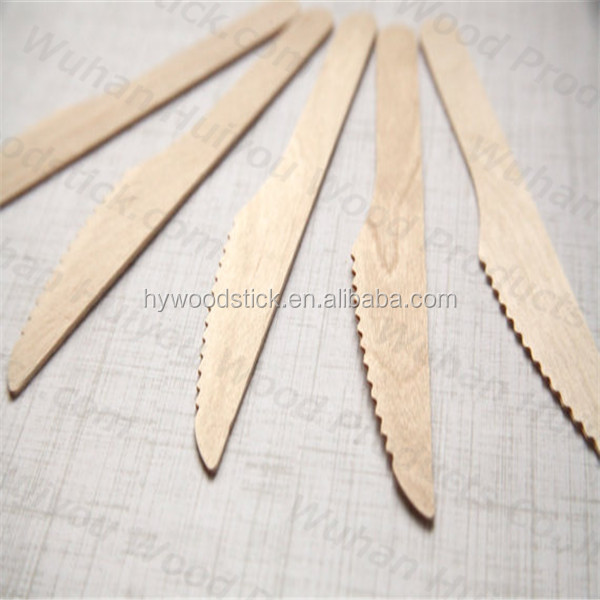 New Design Disposable Knife With Olive Wood Handle for Kitchen
