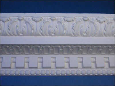 High quality plaster of paris cornices gypsum cornices for interior ...
