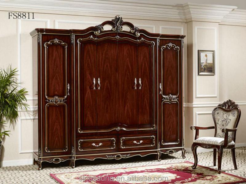 Royale italienne chambre meubles, Luxe rembourré lit à baldaquin ...