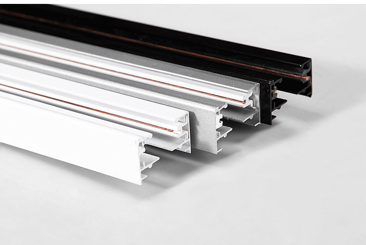 2 wires Aluminum Channel for Flexible Strip for led track lighting ...