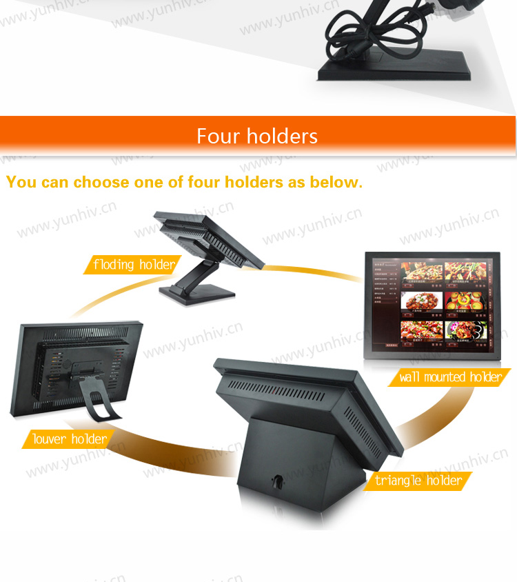 """15"""" touch screen monitor/LCD monitor/touch screen computer monitor"""