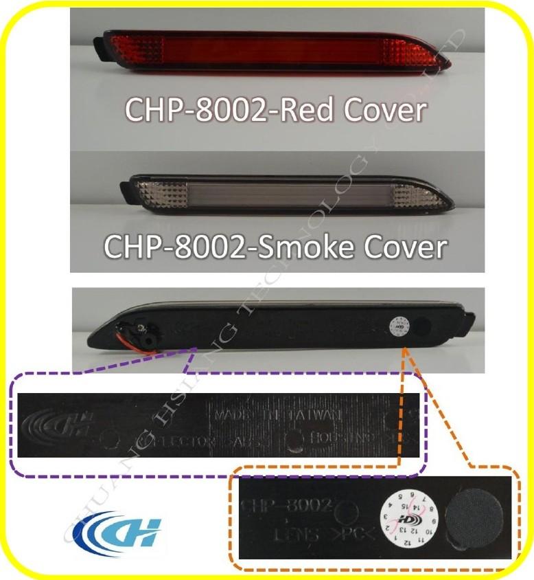 wholesale car tail light red cover rear bumper reflector light for toyota alp. Black Bedroom Furniture Sets. Home Design Ideas