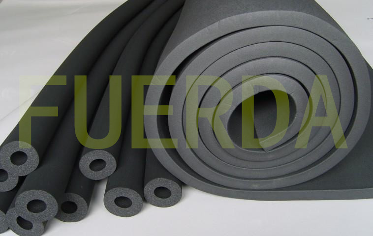 PVC/NBR Rubber-plastic Thermal Protection Materials