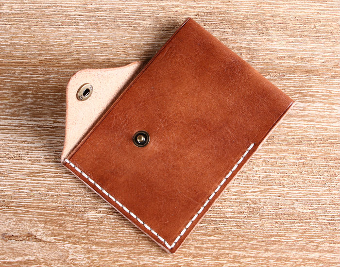 Business card holder leather credit crad holder id card sleeve for 5g colourmoves