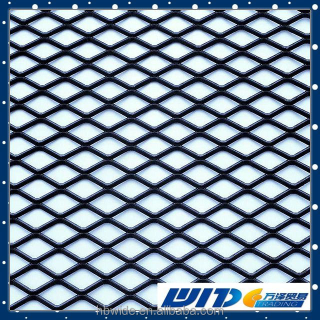 Stainless steel expanded mesh metal sheet