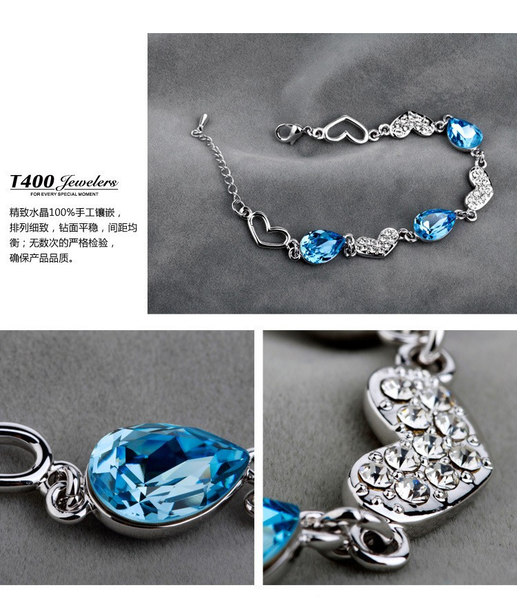 Браслет с брелоками Xijieer 925 & Bracelets