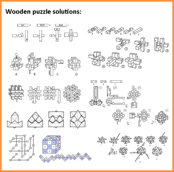 how to solve wooden puzzle cube 1