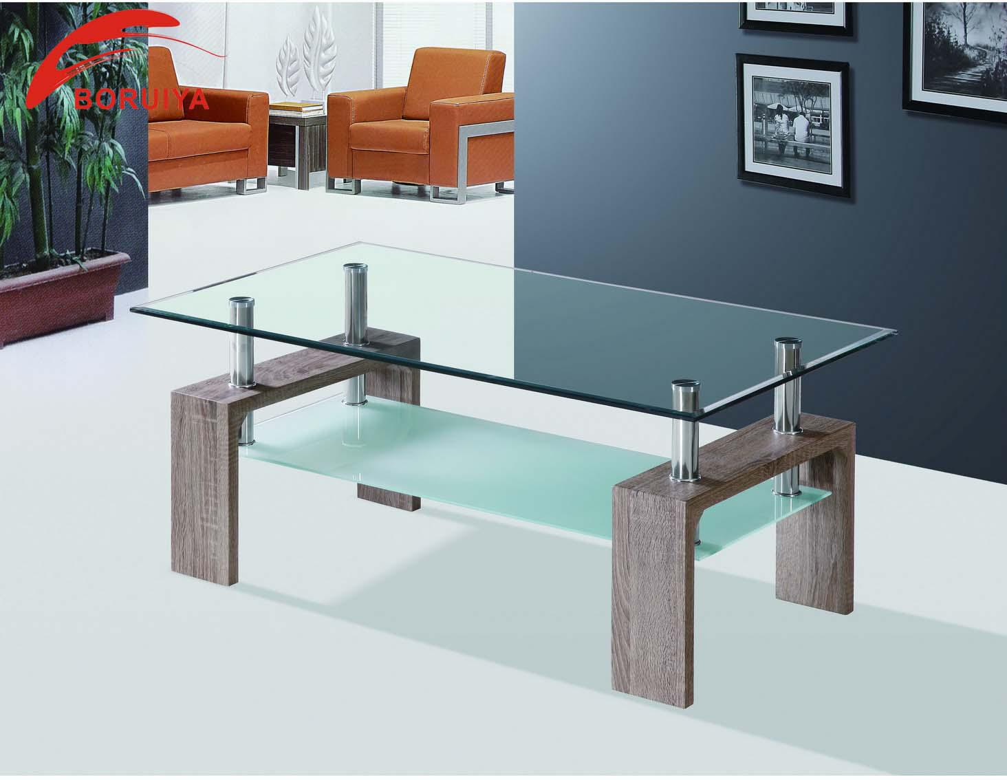 Comdesigner Center Tables : living room furniture center table design/coffee table tempered glass ...