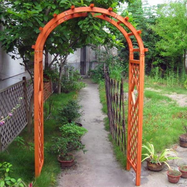 Certificata fsc decorativi da giardino archi di legno - Archi per giardino ...