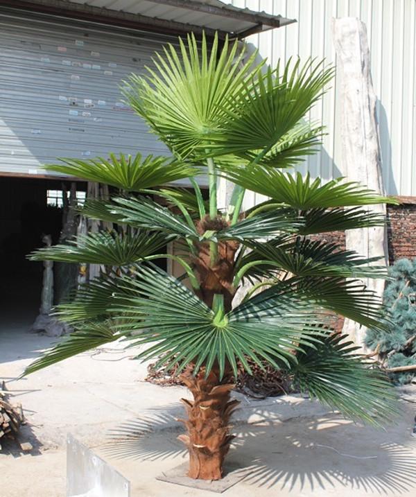 D coration d 39 int rieur 100mg souchesde palmier artificiel 0490 sj065 arbres artificiels id - Petit palmier d interieur ...