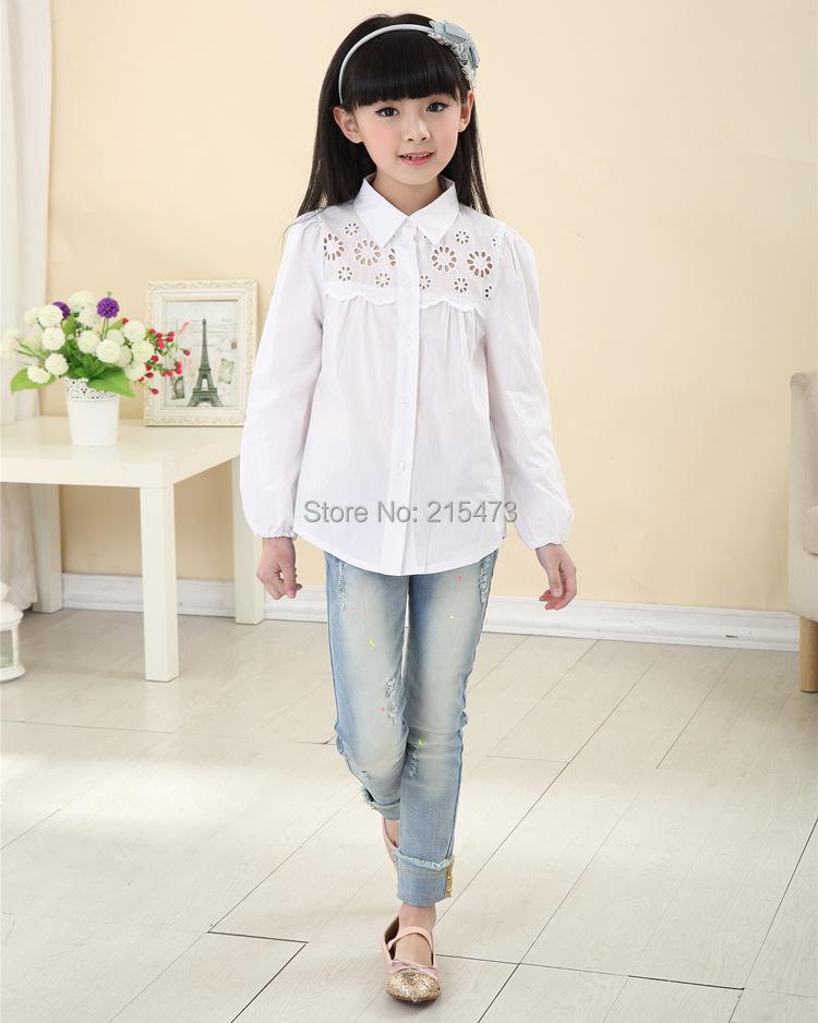 Блузки И Рубашки Для Девочек В Москве