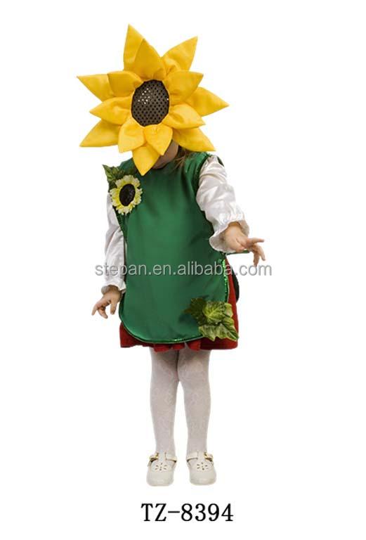 Children Sunflower Fancy Dress Costumes. TZ-8394.jpg ...  sc 1 st  Alibaba & Tz-87167 Children Sunflower Fancy Dress Costumes - Buy Sunflower ...