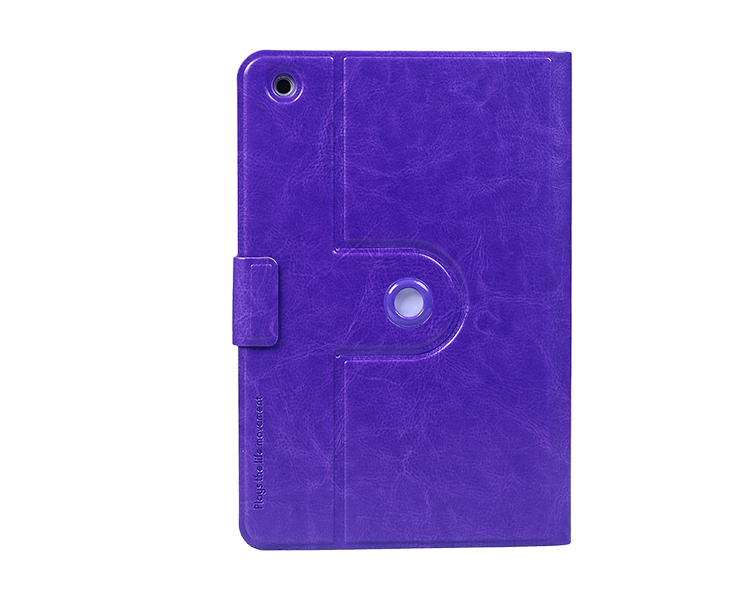 Hot new products for 2014 360 rotating leather case for Ipad mini