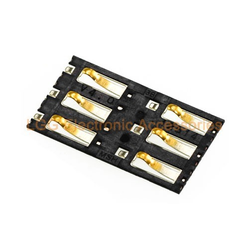 for Xiaomi 3 M3 Mi3 Mi 3 OEM SIM Card Reader Connector Junctor Replacement Parts+ free shipping
