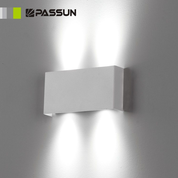 high quality indoor led wall light 2w made in china view wall light