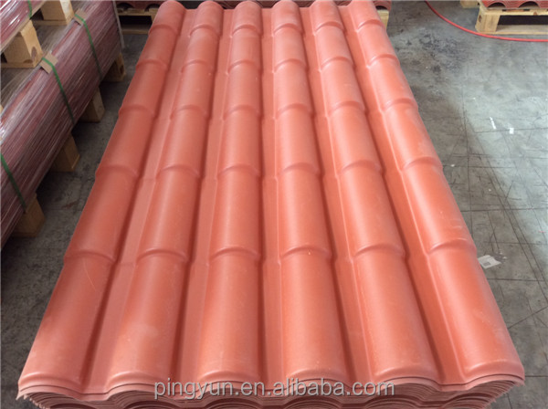 resin plastic european roof tile for villa for home house. Black Bedroom Furniture Sets. Home Design Ideas