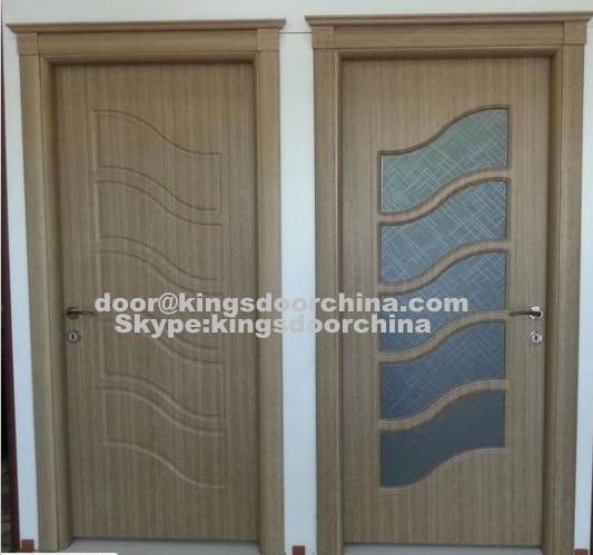Design moderne style turc mdf pvc chambres en bois portes-Portes ...