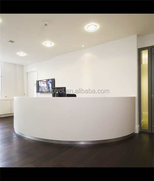 customized office furniture small reception desk front office desk