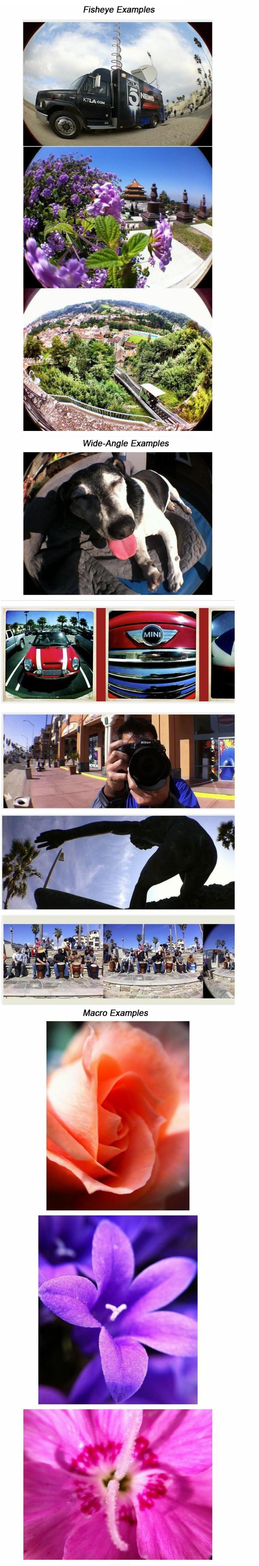 3-в-1 фото объектив для iphone 4 / iphone 4s объектив быстрой смены камеры объектив волшебный объектив для iphone