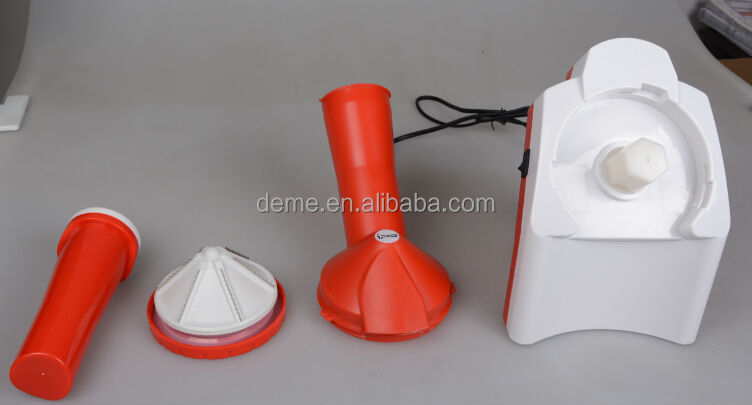 2014 hot sell new design automatic sorbet maker