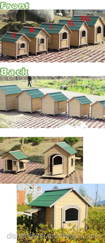Wood Dog Kennel Outdoor Dog Kennel Handmade Kennel
