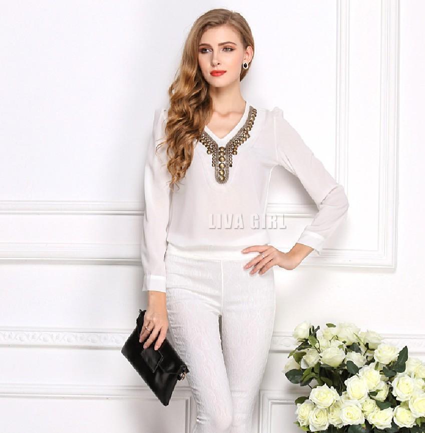 Блузка На Прокат Белая