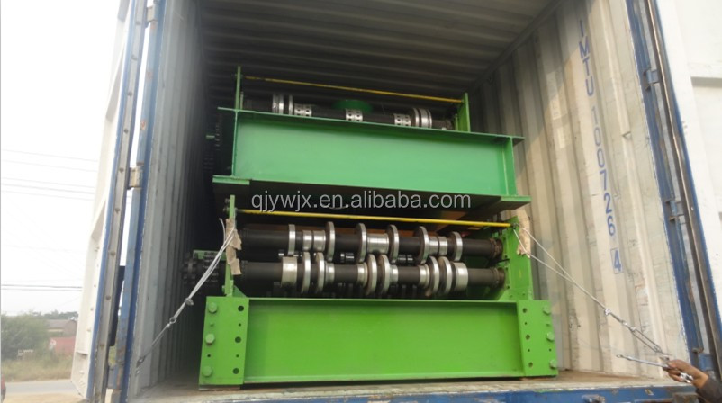 QJ-1000 Galvanized Steel Floor Decking Cold Roll Forming Machine