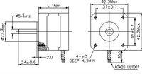 Запчасти для генератора ICNC 2 17h2a9417/01a Nema17 2L415B 3D , CNC 17H2A9417-01A