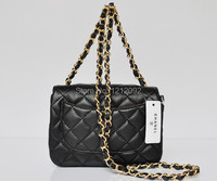 Потребительские товары Women's Fashion CHANELs Mini Chain Handbag Lambskin Shoulder Bags tote bag gold chain Messenger bags purse