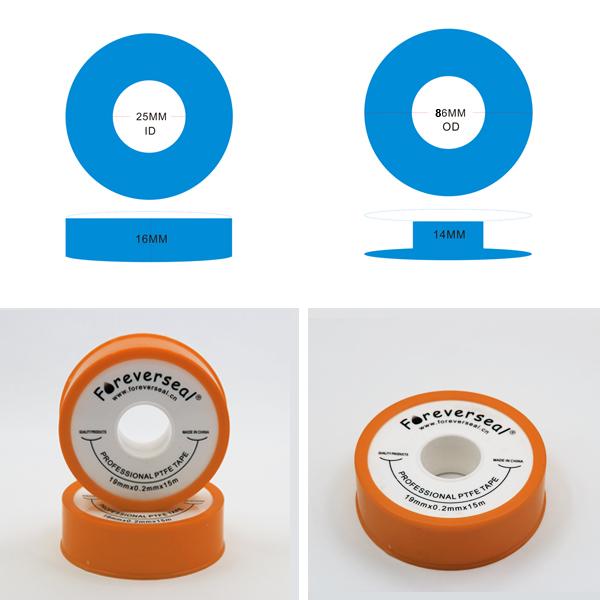 0.2mm épaisseur fil seal tape