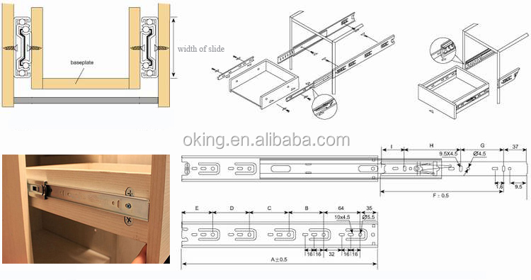 installing heavy duty drawer slides 2
