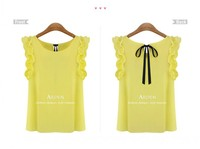 Женские блузки и Рубашки 00 s/xl o lotus leaf