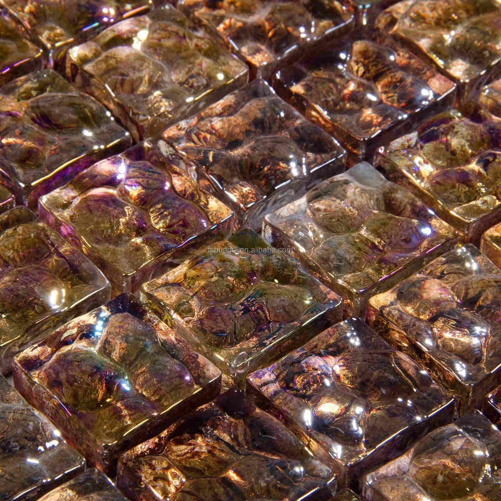 Bronzo oro foglio rete sostenuta mosaici per decorazione della ...