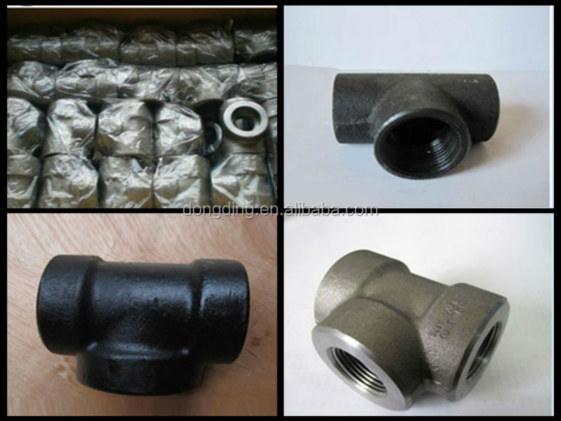 Schedule black carbon steel pipe fittings butt weld