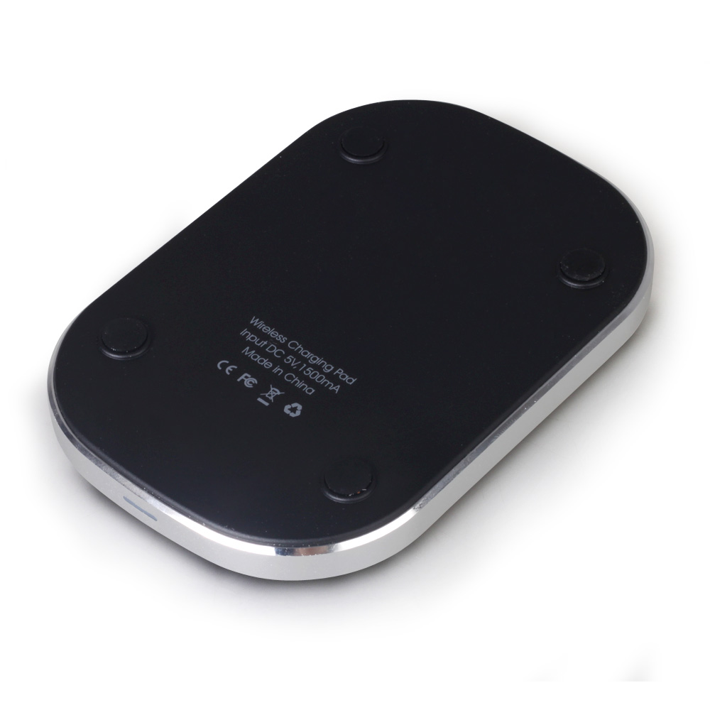 High Quality 3-Coils Qi Wireless Charger For Iphone 5/5S/5C #CG089