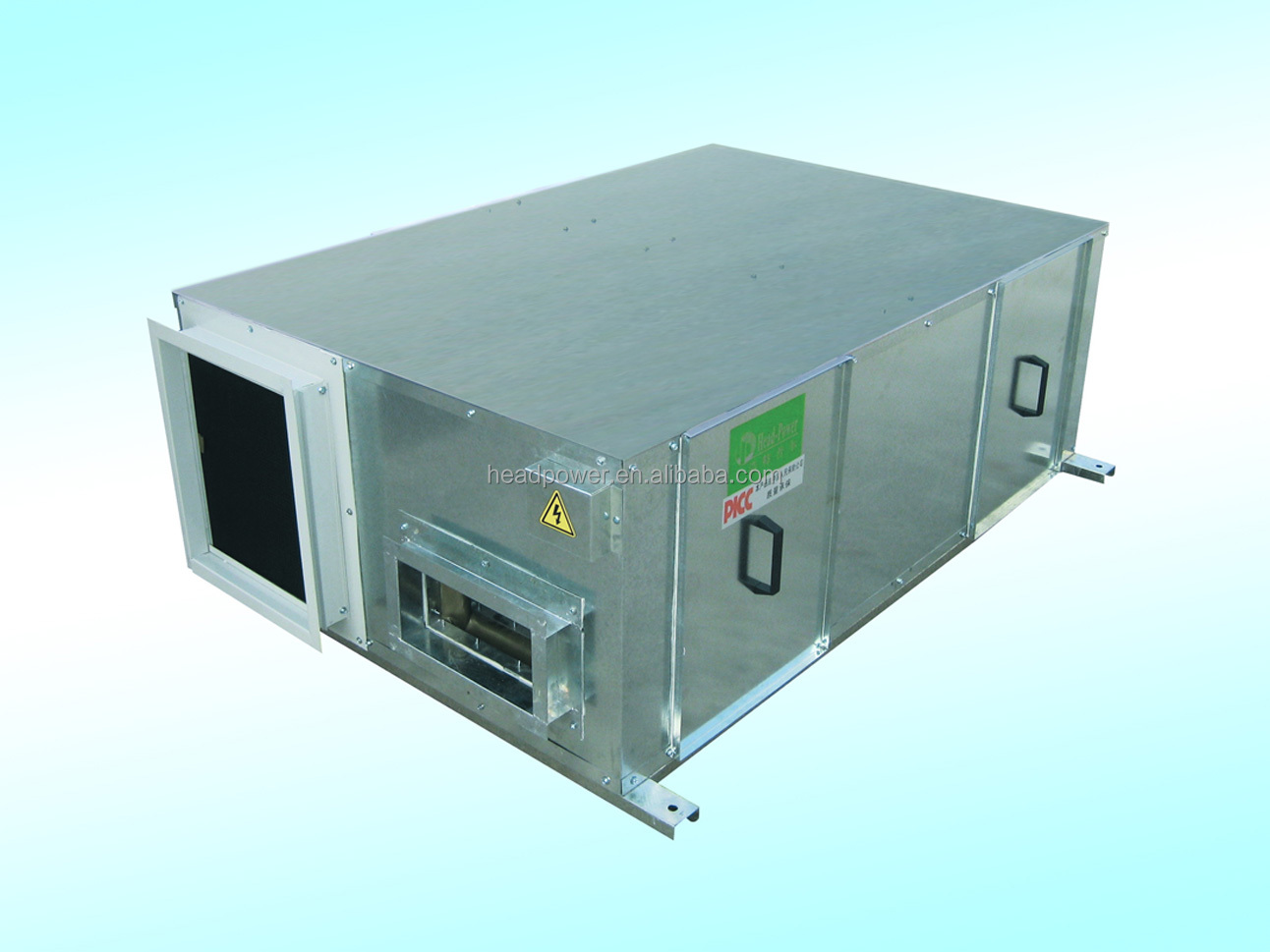 Ceiling Heat Exchanger : Ceiling mounted residential heat exchanger recovery