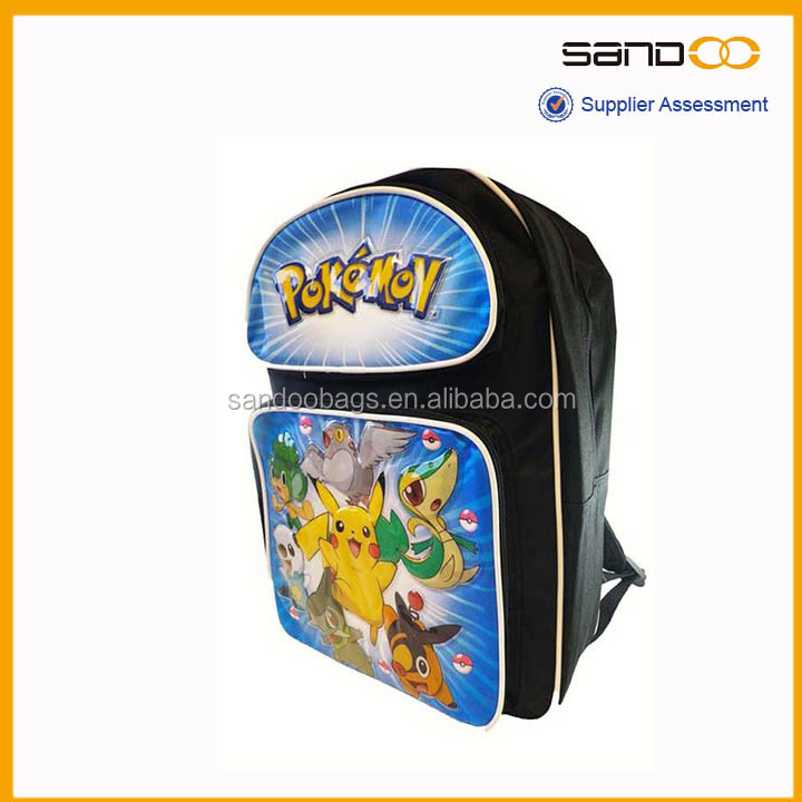 Medium Bag Pokemon School Bag,pokemon Medium